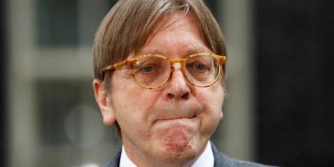 Guy Verhofstadt heads the European Parliament's Brexit Steering Group.