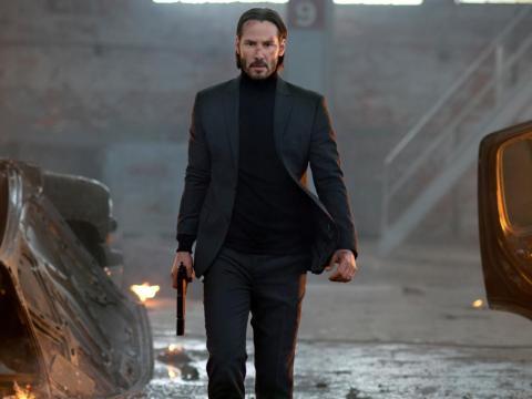 """Keanu Reeves interpretó a un asesino a sueldo por venganza en las películas de """"John Wick""""."""