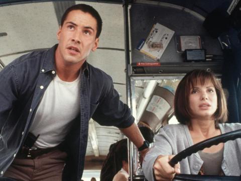 Keanu Reeves y Sandra Bullock han sido amigos durante años y protagonizaron dos películas juntos.