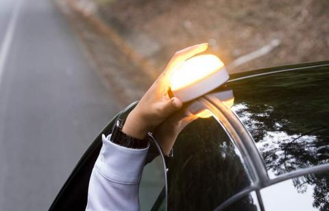 Help Flash Luz de emergencia