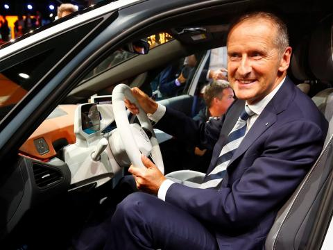 Herbert Diess, CEO de Volkswagen