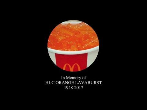 Hi- C Orange McDonald's