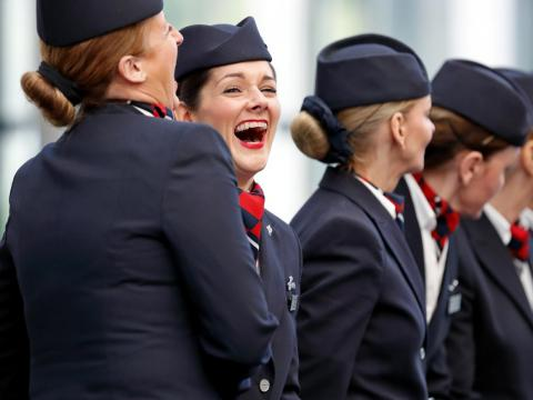 How easy it is to bond with other flight attendants