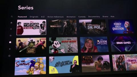 If you click the Series tab, you'll see similar filters to choose which TV show you want to watch.