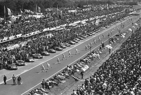 Incensed by his failure to close the deal, Ford decided to beat Enzo's team at the 24 Hours of LeMans.