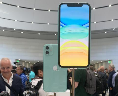 The iPhone 11 also comes in two new colors: green ...