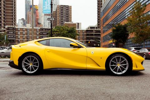 Since the IPO, the company's market cap has risen to $30 billion, thanks to big-ticket cars such as the 812 Superfast.