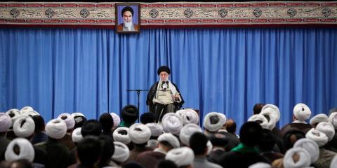 El líder supremo iraní, Ali Khamenei