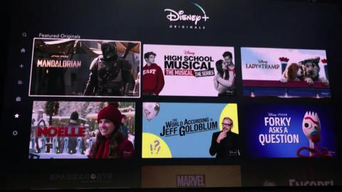 It doesn't look as if you'll get any filters when you visit the Disney Plus Originals tab, however, which just shows you a big grid of content to choose from.