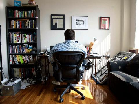 It's crucial to find or create a space where you can focus on your work.