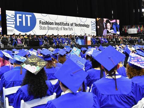 El Fashion Institute of Technology está en el centro de Manhattan.