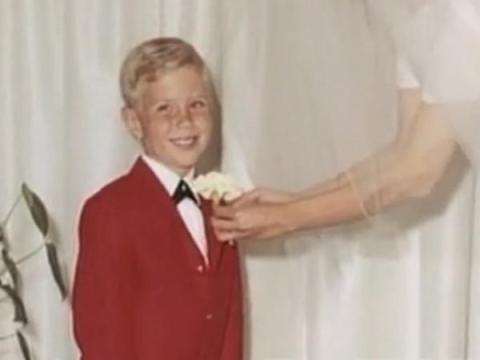 El joven Michael.
