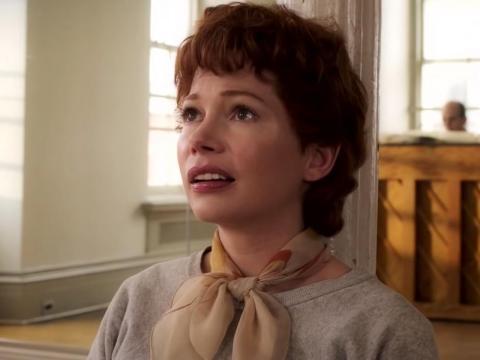 "Michelle Williams on FX's ""Fosse/Verdon."""