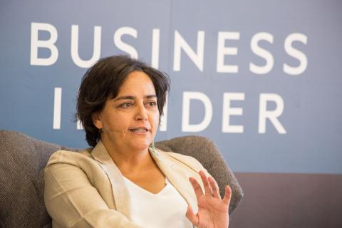 Almudena Román, directora de banca de particulares de ING.