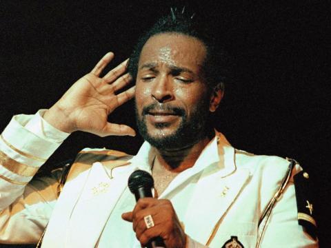 Marvin Gaye ganó el premio a toda una vida de los Grammy en 1996.