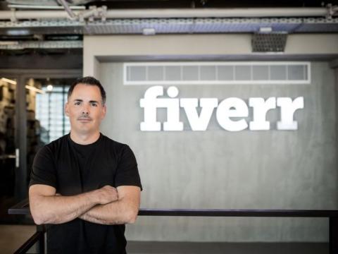 El CEO de Fiverr, Micha Kaufman