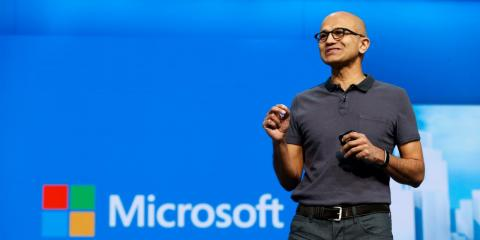 Microsoft hits record high after announcing $40 billion stock buyback plan, dividend boost