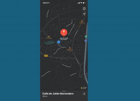 Modo Oscuro de iPhone en iOS 13