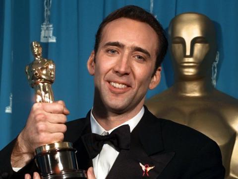 Nicolas Cage se arrunió después de ganar un Oscar en 1996