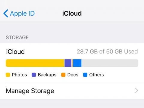 It's a good idea to sync all of your apps and data with iCloud, but for the best experience between your iPhone and iPad, you should definitely turn on Photos.