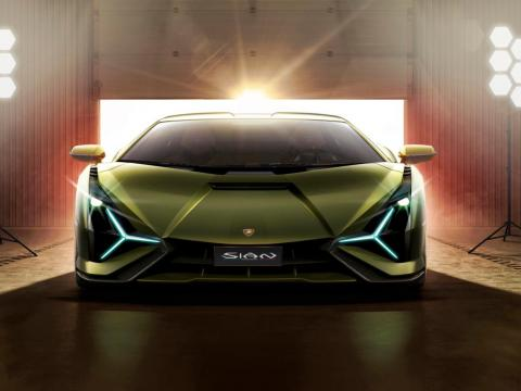 """""""Not only does the Sián deliver a formidable hyper-car design and engineering tour de force today, it augments the potential for Lamborghini as a super sports car brand for tomorrow and for decades to come, even as hybridization"""
