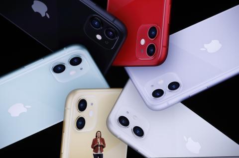 El nuevo iPhone 11.
