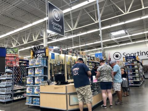 Overall, the experience left me with the impression that buying a gun at Walmart is more complicated than I expected, and that Walmart takes gun sales and security pretty seriously.