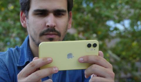 Parte trasera del iPhone 11