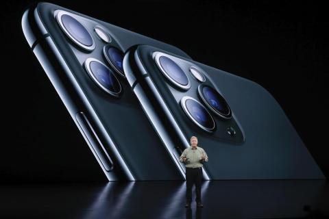 Phil Schiller, vicepresidente de marketing mundial de Apple.