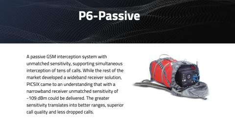 Una de las empresas más orientadas al público es PICSIX, que promueve su tecnología, incluyendo este dispositivo de interceptación de llamadas, en su página web.