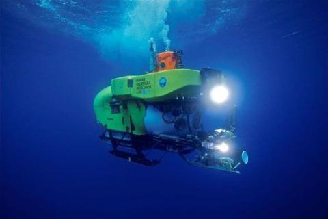 Una de las naves de Pisces VI Submarine.