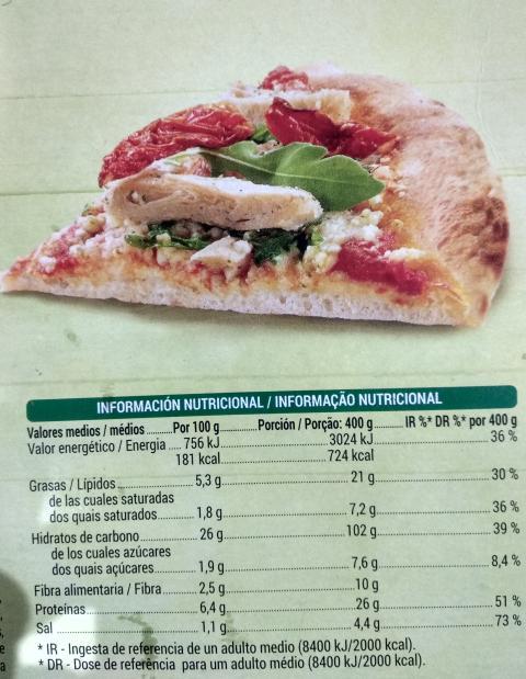 Pizza Mercadona 24