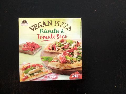 El packaging de la pizza vegana de Mercadona