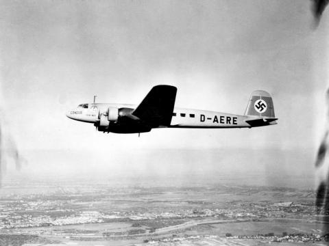 Un Focke-Wulf 200 Condor.