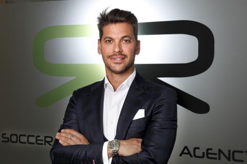René Ramos, hermano del futbolista y CEO de RR Soccer Agency.