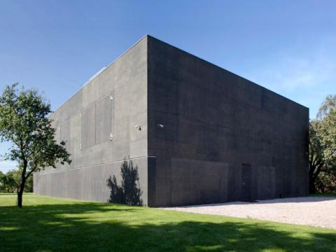 The Safe House behind its thick, concrete walls.