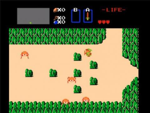 """Saving maidens seemed to be the main theme for Nintendo in the '80s — the company released """"The Legend of Zelda"""" for NES just a year after Mario made his solo debut. Link, the main character, must travel through forests and"""