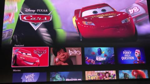 """Similarly, we saw that Pixar would have almost every piece of content it's ever made available on Disney Plus, from features like """"Inside Out"""" to shorts like """"Bao"""" and original series like """"Forky Asks A Question."""""""