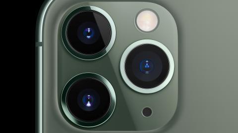 El sistema de triple cámara del iPhone 11 Pro de apple