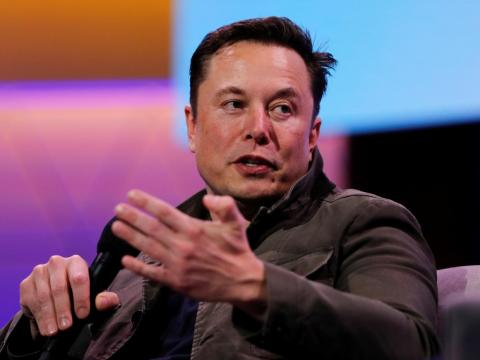 SpaceX owner and Tesla CEO Elon Musk.