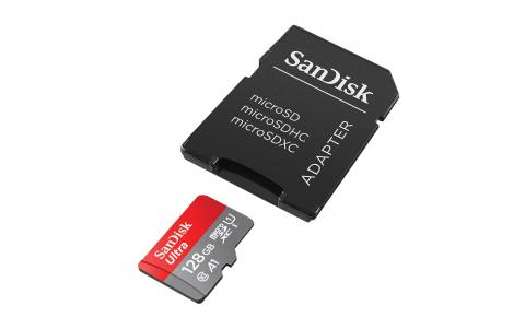 Tarjeta Sandisk 128 GB
