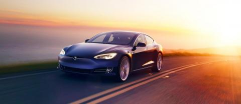 El Tesla Model S.
