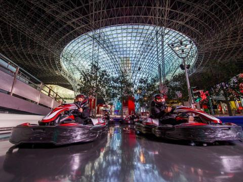 There's even a Ferrari-themed amusement park!