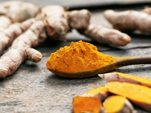 There's some evidence that eating more of certain foods, like turmeric, could help.