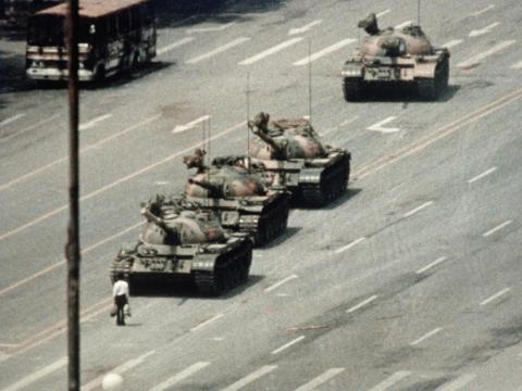 """La Plaza de Tiananmen se consideraba una """"demonización o distorsión de la historia local o de otros países"""" según las reglas de TikTok."""