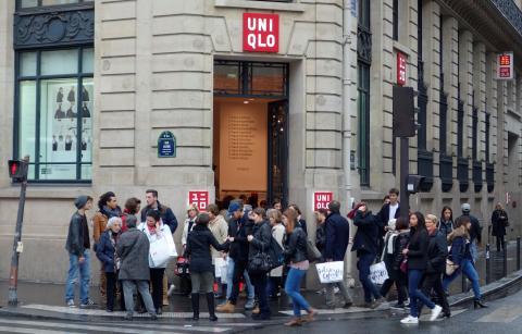 Tienda de Uniqlo en Francia