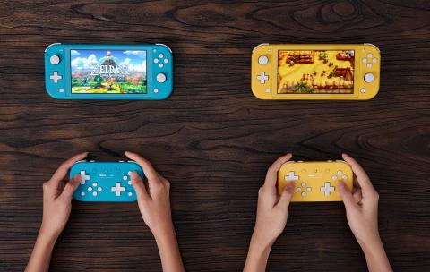 Si tienes una Nintendo Switch Lite necesitas estos nuevos mandos inalámbricos a juego de 8BitDo