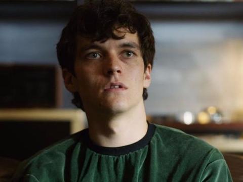 "Fionn Whitehead in ""Black Mirror: Bandersnatch."""
