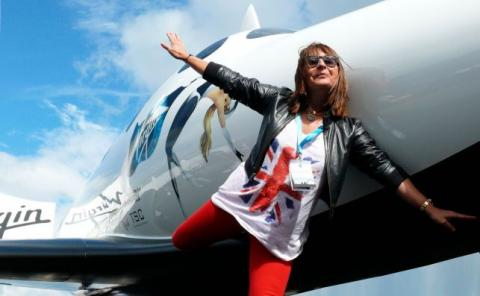 Ana Bru viajará con Virgin Galactic al espacio.