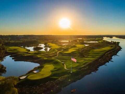 Trump National Golf Club in Washington, DC.
